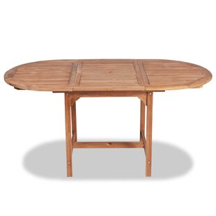 Ayres Extendable Teak Dining Table By Sol 72 Outdoor