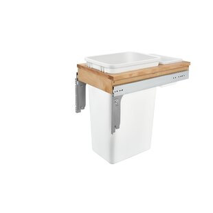 Top Mount 12.5 Gallon Pull Out/Under Counter Trash Can