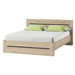 Loon Peak Hopedale Queen Platform Bed with Mattress