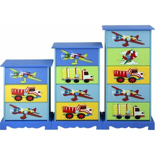 Best Price Adorable Kid's 3 Drawer Chest by Corzano Designs Reviews (2019) & Buyer's Guide