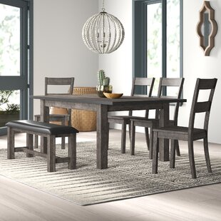 Katarina 6 Piece Dining Set by Mistana Best #1
