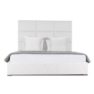 Brayden Studio Handley Upholstered Panel Bed