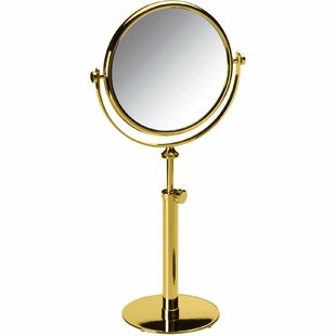 Coupon Lampert Double-Sided Makeup/Shaving Mirror By Everly Quinn