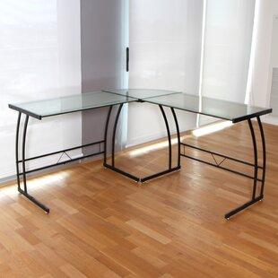 Find a Larene L-Shape Computer Desk ByLatitude Run