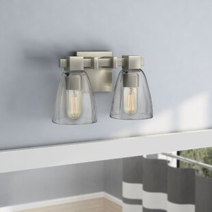Best Choices Marnie 2-Light Vanity Light By Zipcode Design