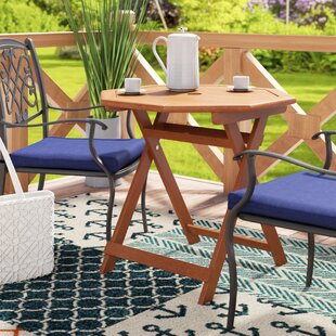 Pine Hills Folding Solid Wood Dining Table by Beachcrest Home