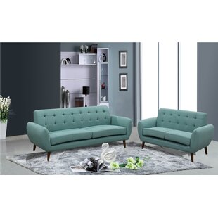 Reviews Philip 2 Piece Living Room Set by Ivy Bronx Reviews (2019) & Buyer's Guide