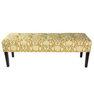 Terese Upholstered Bench by Red Barrel Studio Spacial Price