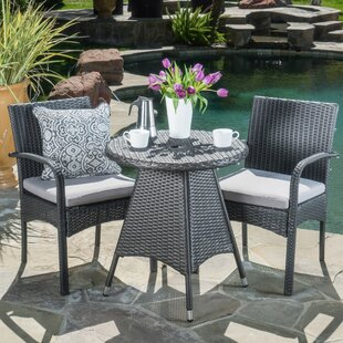 Bittner 3 Piece Bistro Set by Ivy Bronx