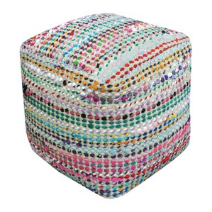 Kalivody Pouf Ottoman by World Menagerie