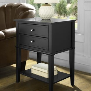 Superbe Dmitry End Table With Storage