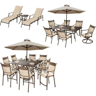 Red Barrel Studio Doucette 23 Piece Bar Height Dining Set