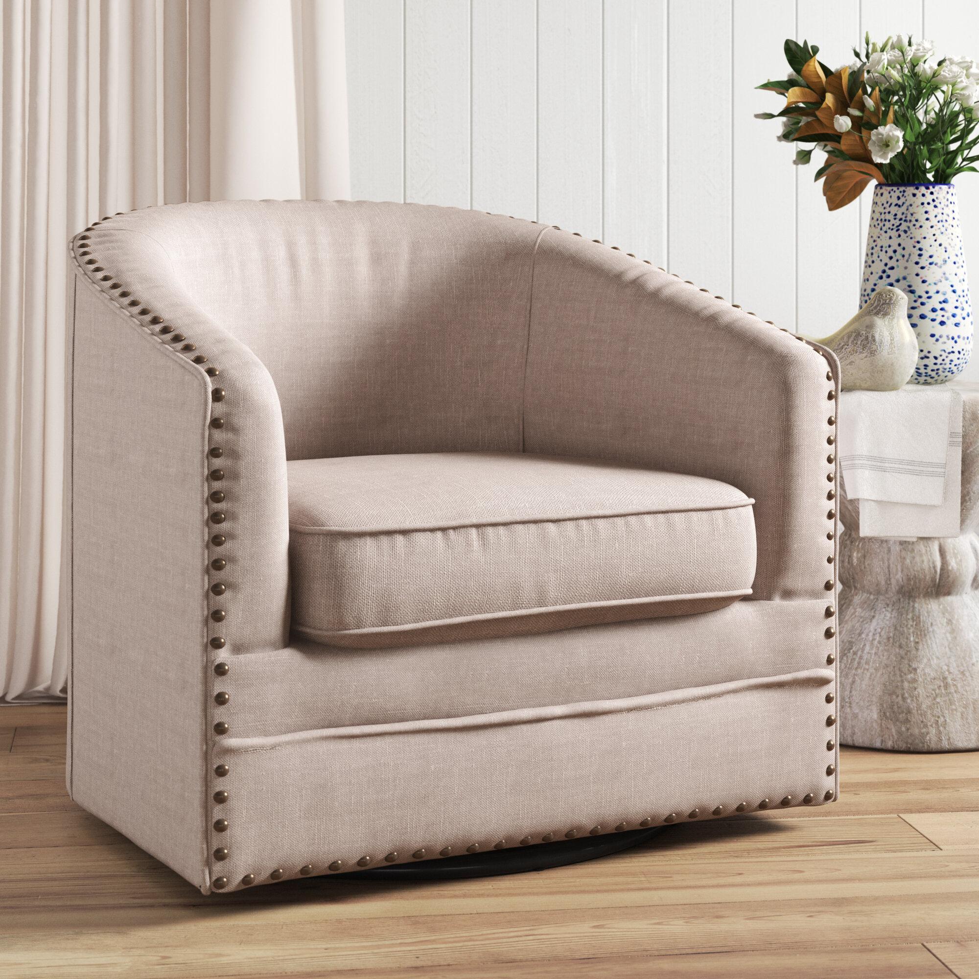 Picture of: Aviva Swivel Barrel Chair Reviews