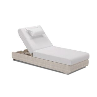 100 Essentials Sumba Adjustable Sun Lounge with Cushion