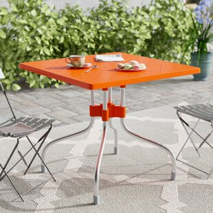 Buerger Square Folding Bistro Table