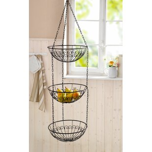 Wire Hanging Kitchen 230 fl oz. Fruit Basket