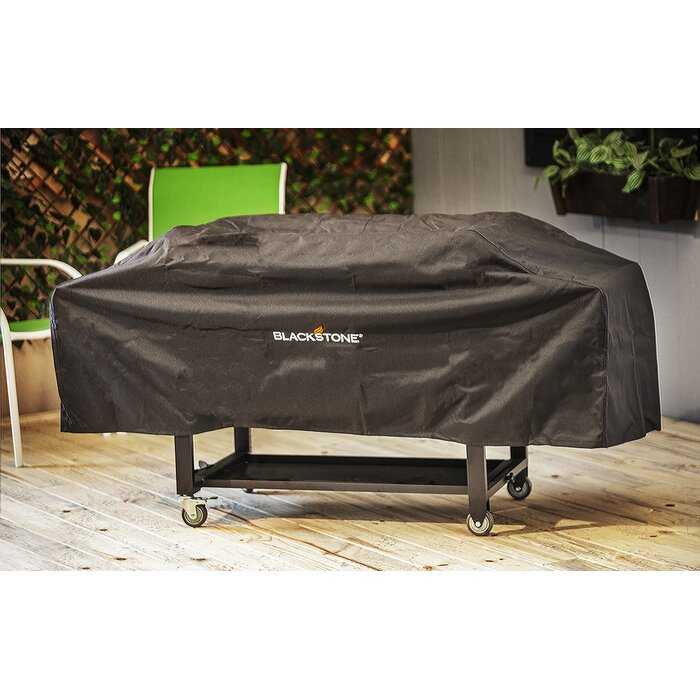 Griddle Grill Cover Heavy Duty Polyester Waterproof UV Tear Resistant Cart Style