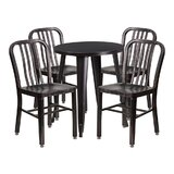 Mia 5 Piece Bar Height Dining Set