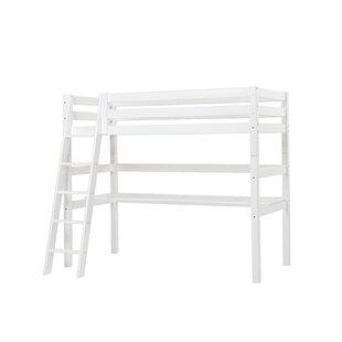 Check Price Premium European Single High Sleeper Bed With Desk