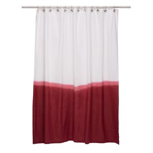 Price comparison Lauralee Cotton Shower Curtain ByIvy Bronx