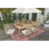 Nimmons 7 Piece Dining Set with Cushions