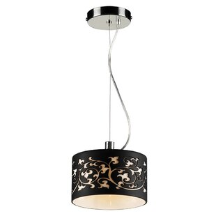 House of Hampton Dunder 1-Light Drum Pendant