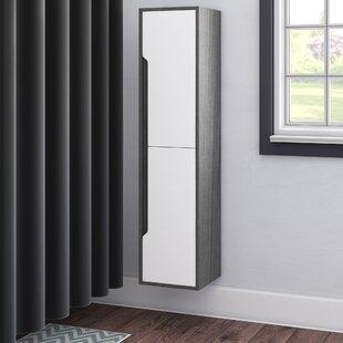 Zampa 14 W x 59 H Wall Mounted Cabinet by Brayden Studio