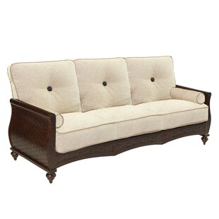 French Quarter Patio Sofa with Cushions