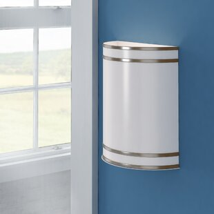 Deals Sid LED 1-Light Wall Sconce By Latitude Run