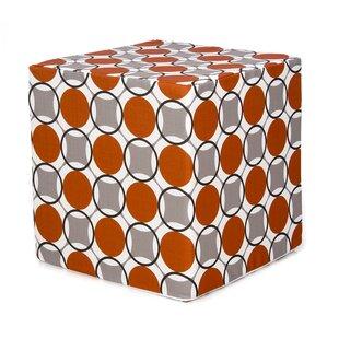 Bullen Decorative Cube Ottoman by Zoomie Kids