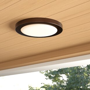 Weehawken LED Outdoor Flush Mount