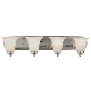 Charlton Home Loganville 4-Light Vanity Light
