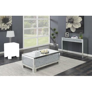 Rosdorf Park Madera 2 Piece Coffee Table Set