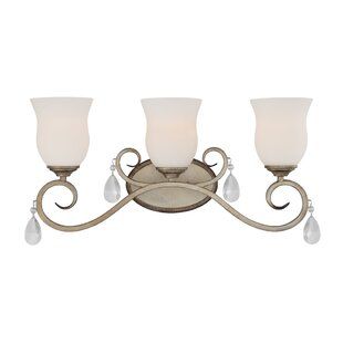 Find for Gala 3-Light Vanity Light By Designers Fountain