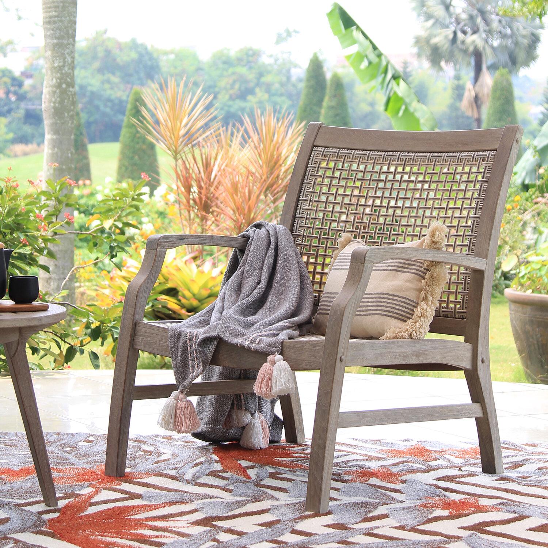 Cushionless Teak Outdoor Club Chairs You Ll Love In 2021 Wayfair