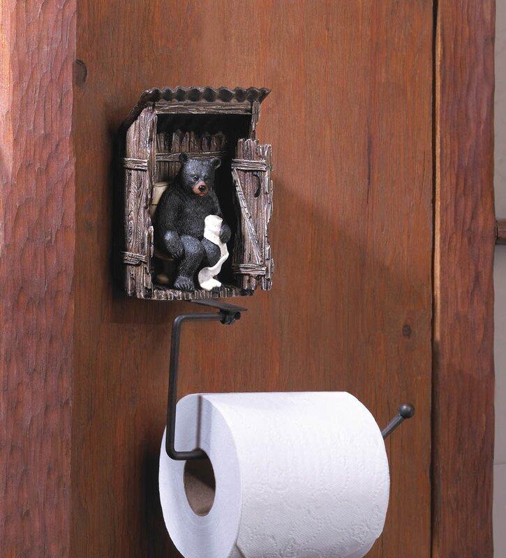 Deer Free Standing Toilet Paper Holder Toilet Roll Holder