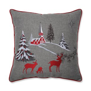 Silva Christmas Scene Throw Pillow