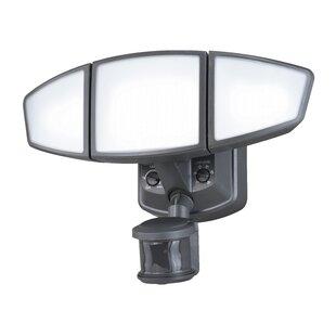 Vaxcel Omega LED Outdoor Security Flood Light with Motion Sensor