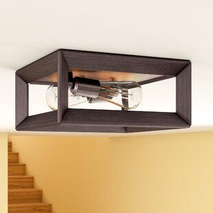 Thorne 2-Light Metal Flush..