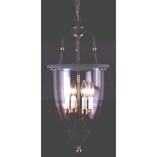 Classic Lighting Asheville 4-Light Outdoor Hanging Lantern