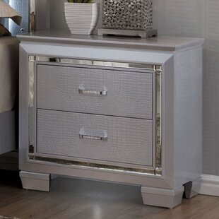 Continuum 2 Drawer Nightstand by Rosdorf Park
