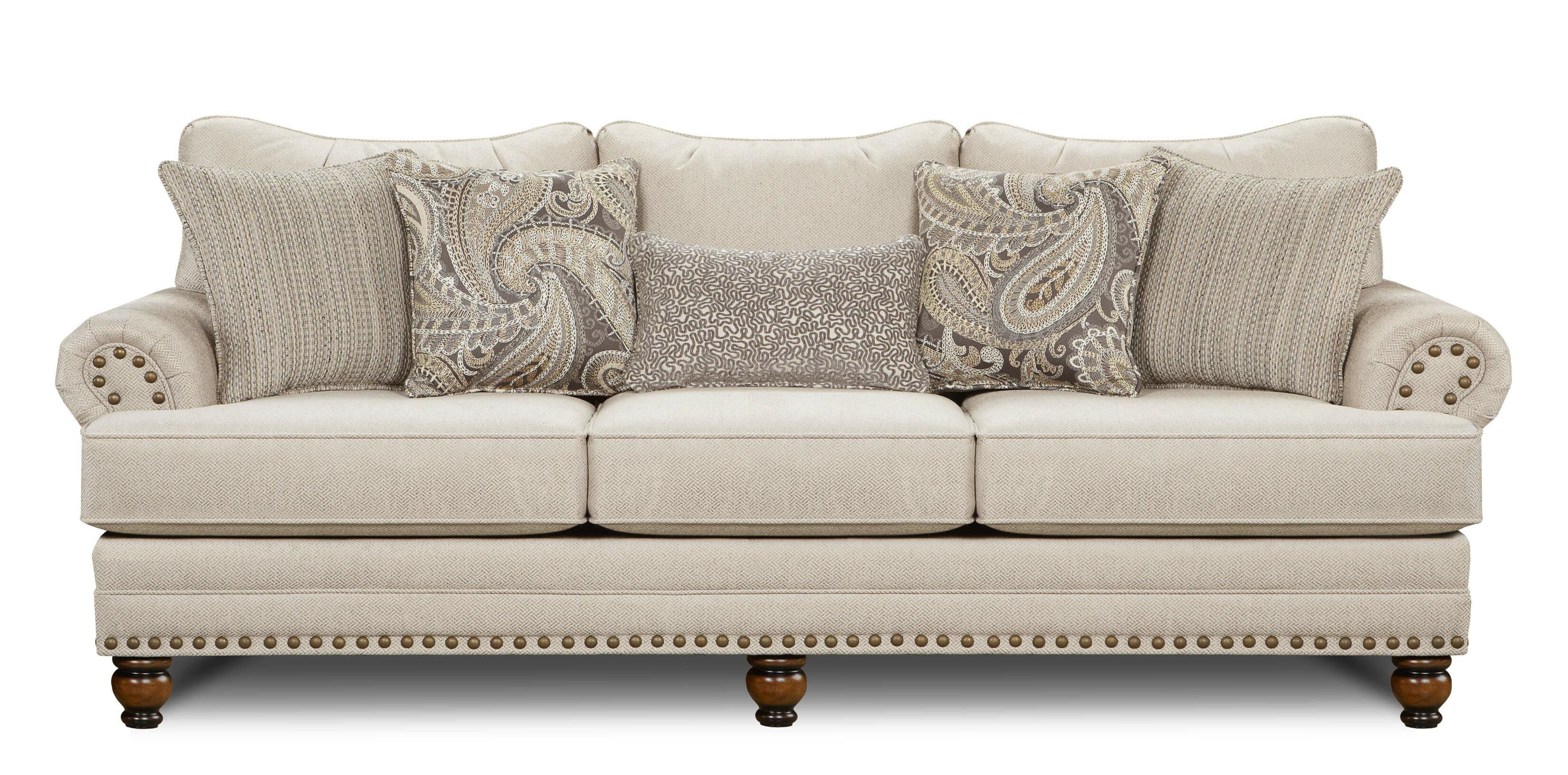 Three Posts Lavine 96 Rolled Arm Sofa Reviews Wayfair