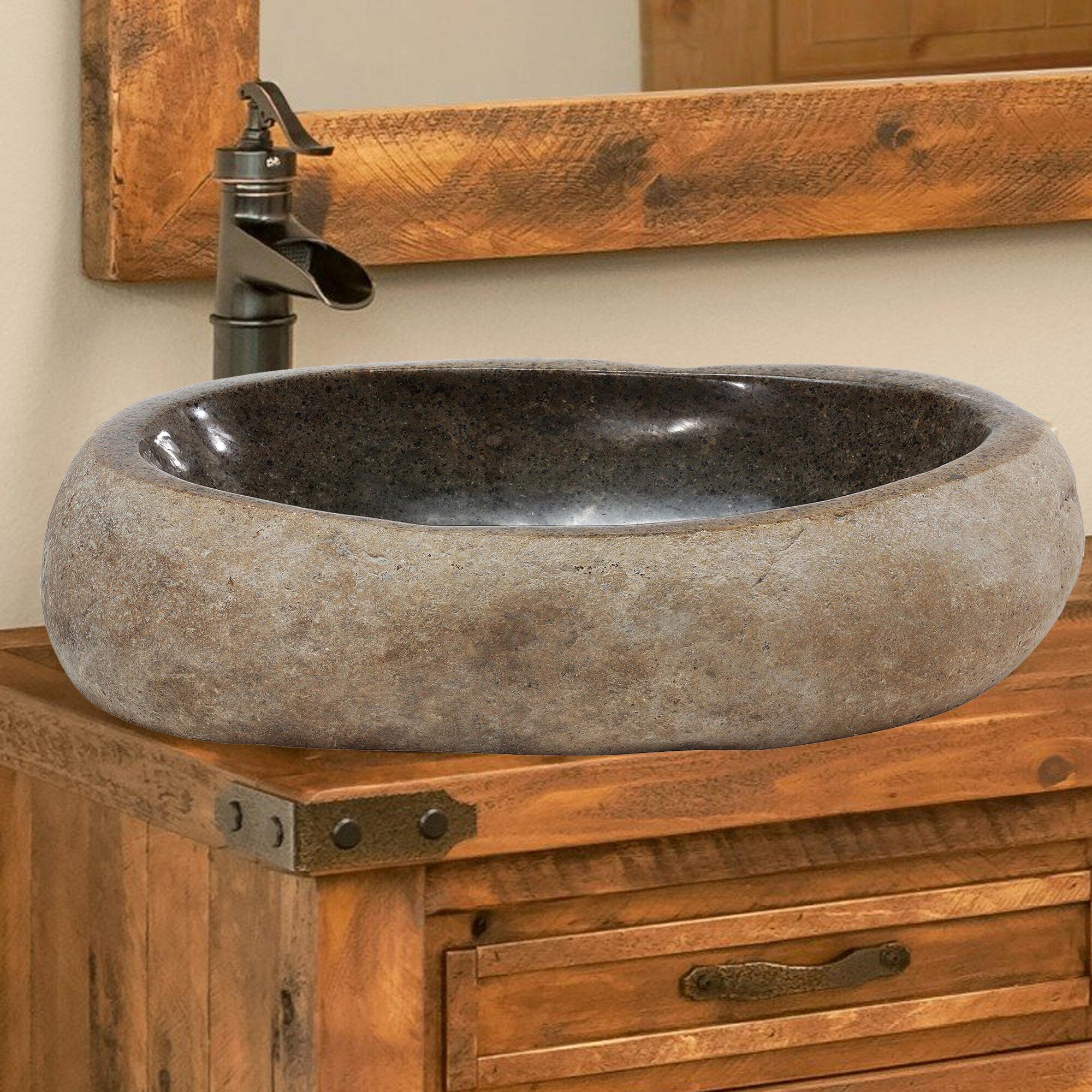 Aa Warehousing Lucki Stone Specialty Vessel Bathroom Sink Reviews