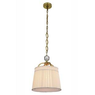 drum lighting pendant ceiling sharonda transitional 1light drum pendant lighting joss main
