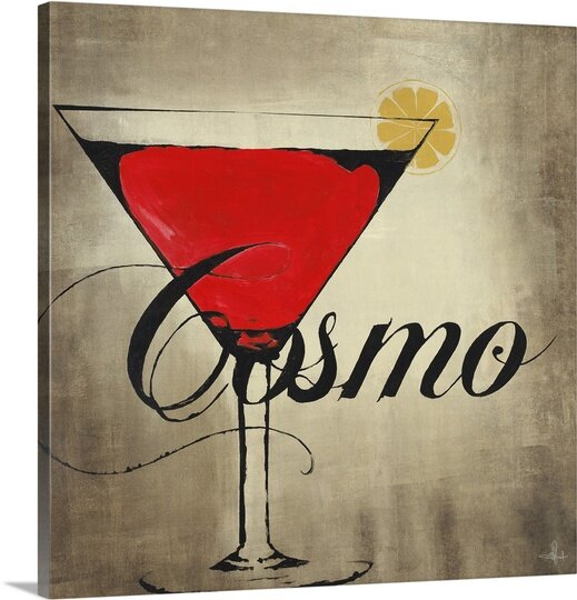 Canvas On Demand Cosmo By Kc Haxton Textual Art On Canvas Wayfair