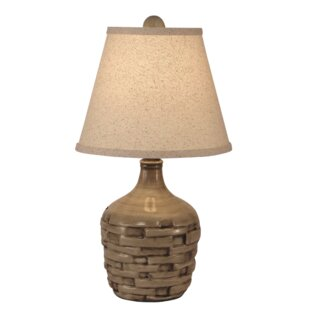 Branford Short Thatched 18 Table Lamp
