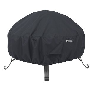 Full Coverage Round Fire Pit Cover by Lynton Garden