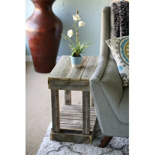 Reviews Frankford Slatted End Table By Ophelia & Co.