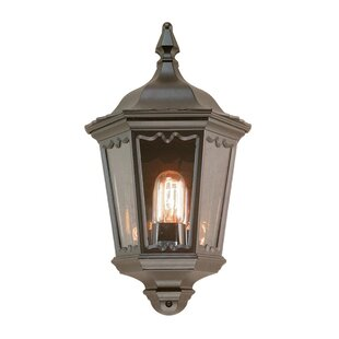 Delora 1 Light Outdoor Wall Lantern With Motion Sensor By Marlow Home Co.