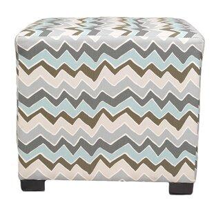 Denton Cube Ottoman by Sole Designs